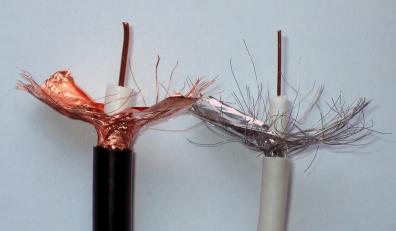 Antennkabel 1,63 / 7,1 / 10,2 Utomhus rulle 100m
