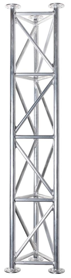 Fackverksmast sektion Aluminium 1,5m