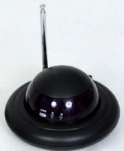 Remote Control Extender UFO Svart