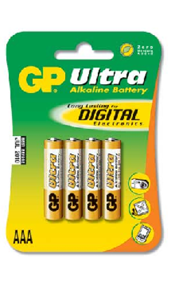 ULTRA AAA/LR03 4-pack