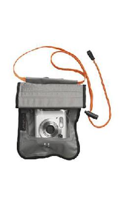 Vattentät kameraväska titanium