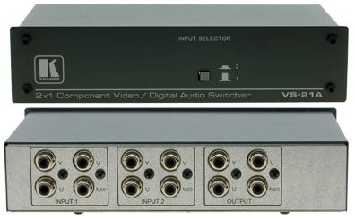 Kramer VS-21A Komponent växel / switch