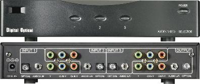 Avtool AVT-5831 Komponent växel / switch