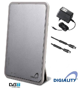 Digiality Aktiv inomhusantenn för digital och analog-tv