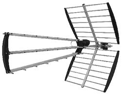 V-45 UHF antenn digital-tv