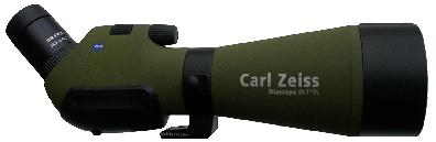 Zeiss Diascope 85T*FL vinklad utan okular
