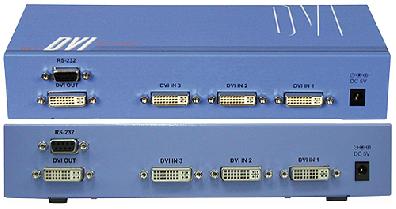 Cypress T. CDVI-61 DVI växel / switch
