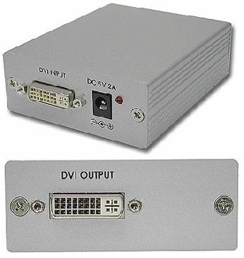 Cypress T. CP-263D DVI Repeater / Förstärkare