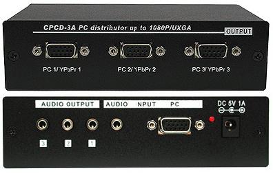 Cypress T. CPCD-3A VGA splitter
