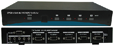 Cypress T. CPCD-41AR VGA switch / växel
