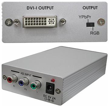Cypress T. CP-260D Komponent till DVI-D