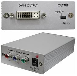 CP-260D Komponent till DVI-D