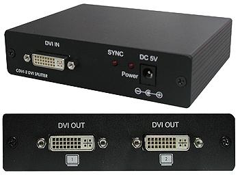 Cypress T. CDVI-2H DVI Splitter 1:2 1080p