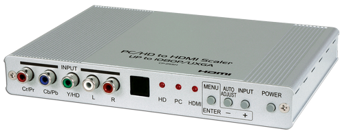 Cypress T. Komponent/VGA till HDMI Scaler