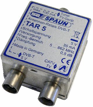 Spaun TAR-5 DVB-T / CATV Relä