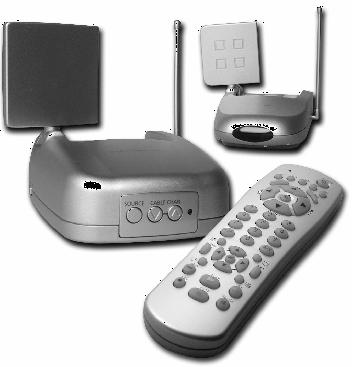 Digitaltvexperten Trådlöst antennuttag med AV-link