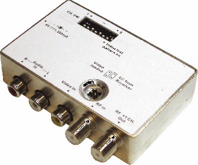 Digiality RF-Modulator VHF Stereo