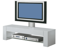 Q 6250S LCD-/Plasmabänk Silver