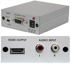 CP-261H VGA / komponent till HDMI