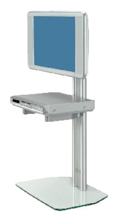 DFF 105 Golvstativ för platta skärmar
