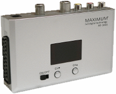 Maximum RF 3000 Universal Video RF-modulator UHF
