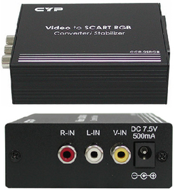 Video till RGB-Scart Konverterare