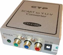 CSY-2100 Scart RGB to YUV converter