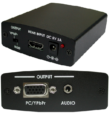 Lektropacks VISIONFC4 HDCP Rem. HDMI - Komponent / VGA