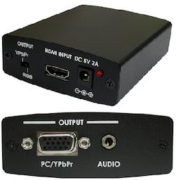 VISIONFC4 HDCP Rem. HDMI - Komponent / VGA