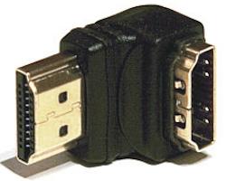HDMI Vinkel adapter 90° nedåt