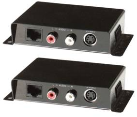Digitaltvexperten S-VHS Balun med ljud
