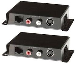 S-VHS Balun med ljud