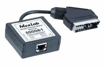 Muxlab Scart Balun Mottagare