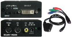 Scaler & converter to DVI-D