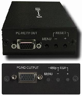 Cypress T. CP-251F VGA till komponent