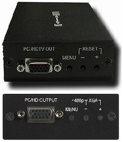 CP-251F VGA till komponent