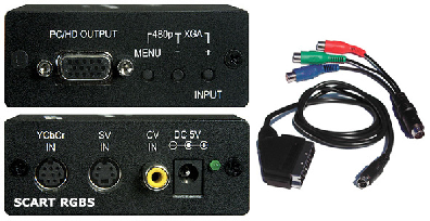Cypress T. CM-347ST Scaler & converter to HD