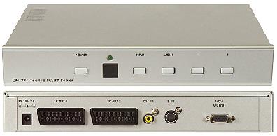 Cypress T. Scaler/converter till VGA
