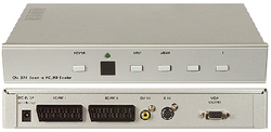 Scaler/converter till VGA