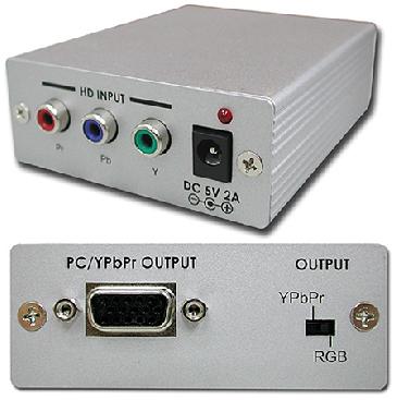 Cypress T. CP-265 Komponent till VGA konverter