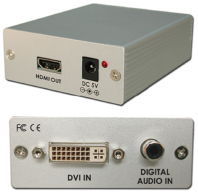 Cypress T. CP-268S DVI-D till HDMI konverter