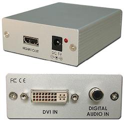CP-268S DVI-D till HDMI konverter