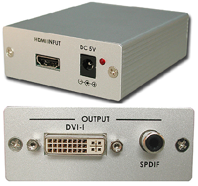 Cypress T. CP-267S HDMI till DVI-D konverter
