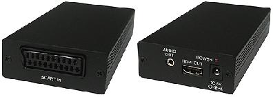 Cypress T. CS-720PHD Scart till HDMI converter DEMO