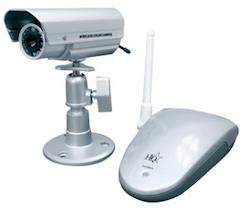 Trådlös övervakningskamera utomhus + mottagare