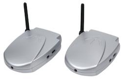 Trådlös audio sändare / webradio flyttare med USB