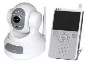 Dsec Trådlös övervakningskamera motor med LCD-mott.