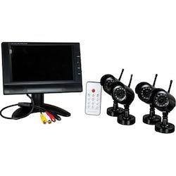 Trådlöst övervakningssystem 4 kameror 7