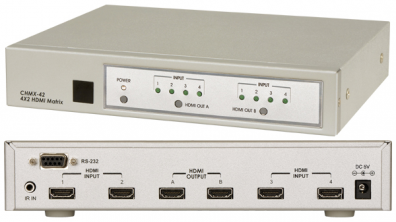 Cypress T. CHMX-42 HDMI Matrix switch / växel