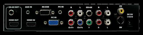 Cypress T. Multiscaler / Konverter VGA/komp/CVBS mm